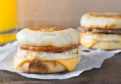 McDonald's Egg McMuffin recipe can easily be replicated in your own home, and can just as easily be used to make the Sausage McMuffin with Egg too!
