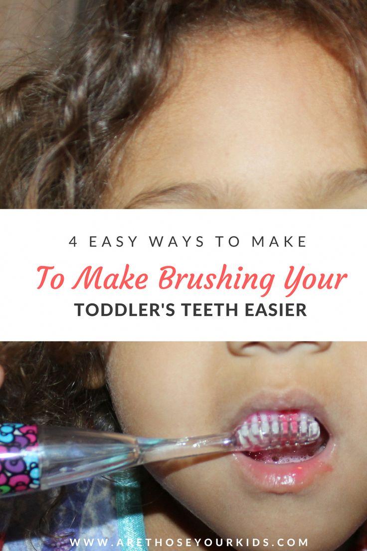 4 Easy Ways To Make Brushing Your Toddler's Teeth Easier