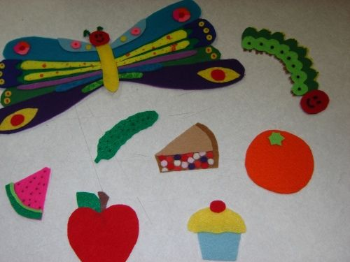 Felt Board patterns and poems