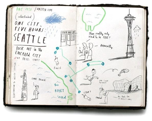 Travel Map   Seattle