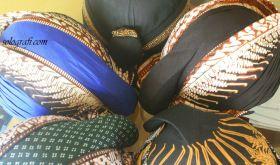 Blankon (javanese hat)