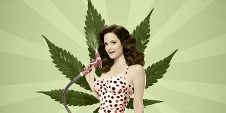 Why are female stoners notoriously underrepresented in stoner comedies?