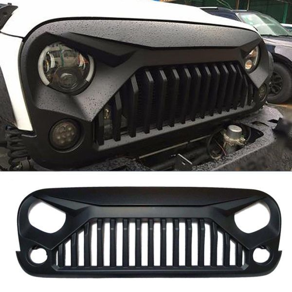 Vader Angry Grille For Jeep Wrangler Jk With Images Jeep Jk Parts Jeep Jk Jeep