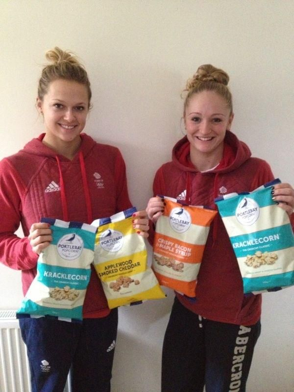Congratulations to Tonia Couch and and Sarah Barrow who have won the 10m Syncro at the British Diving Championships. It must be something in their diet......