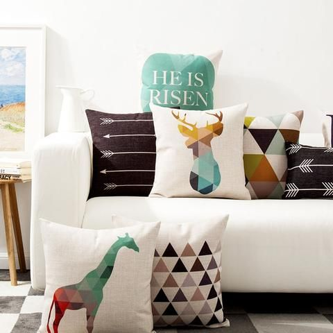 Feeling a little bored of the same old pillow cases at home? Get a stylish...