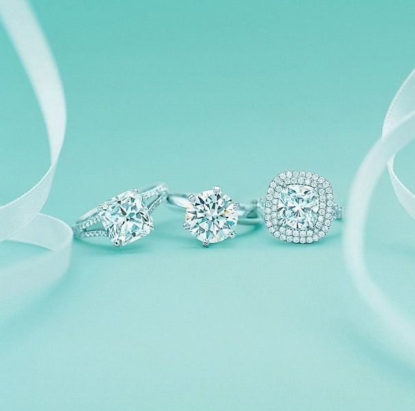 tiffany wedding rings.... The one on the left please!