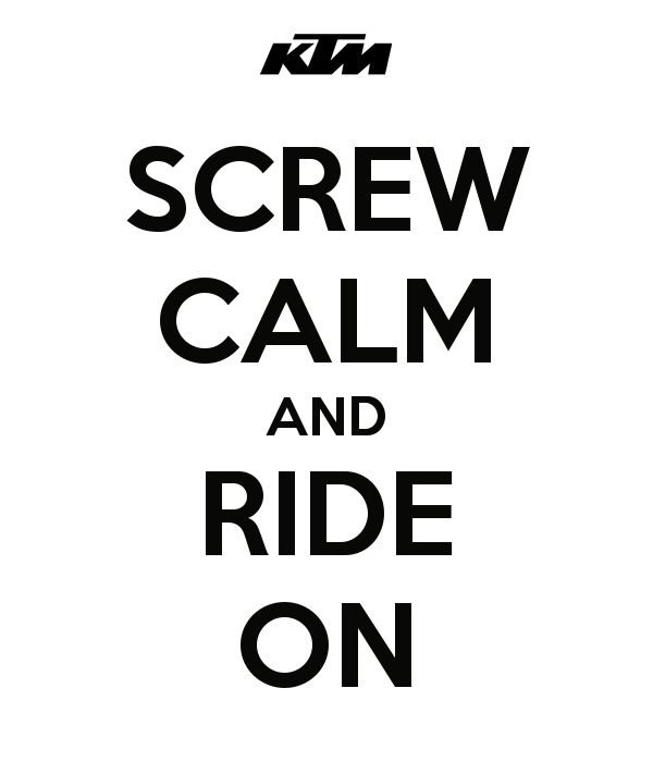 #Motocross #KTM Ride On!