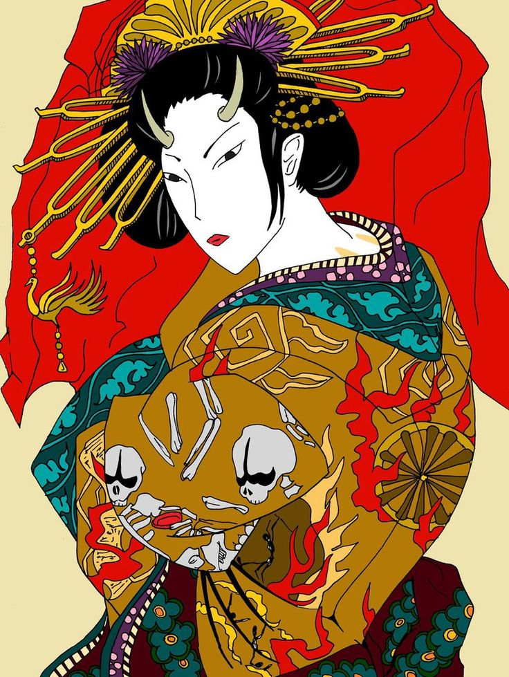 Jigoku Dayu (Hell Courtesan) ~Nisemono Series~ by IrieMakoto