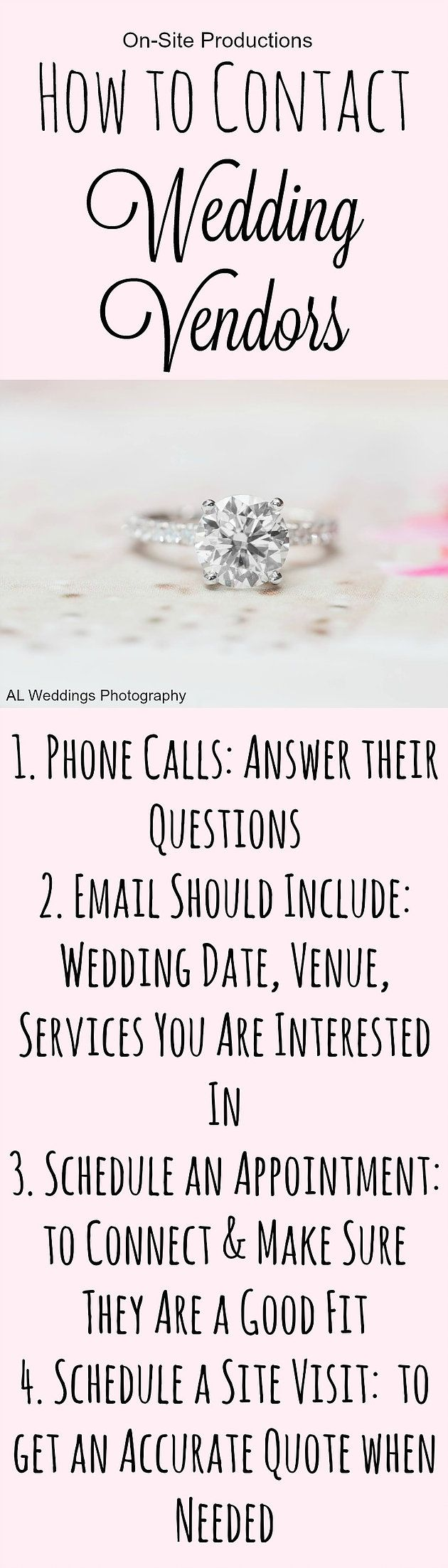 33 best alabama wedding venues and vendors images on pinterest these are awesome tips to get results fast to find the best fit of wedding vendors you are going to call email and meet with many candidates junglespirit Image collections