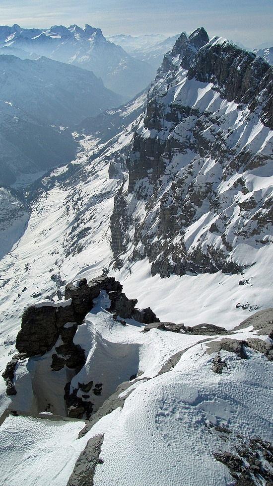 atop Mt Titlis Engelberg, Switzerland