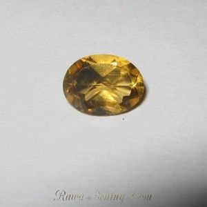 Oval Orangy Yellow Citrine 1.35 carat