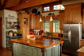 Country: Butcher Block, Decor, House Ideas, Country Kitchens, Kitchen Ideas, Kitchen Islands, Kitchen Designs, Kitchen Cabinets