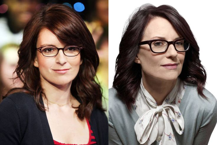 Megan Mullally and tina fey