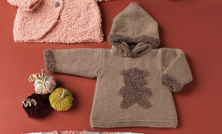 Book Baby 78 Autumn / Winter | 13: Baby Coat | Beige / Brown