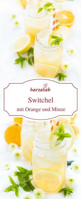 Rezept für Switchel oder Haymaker´s Punch von herzelieb. Einfach mit Honig, Agavensirup oder Ahornsirup süßen. Mit Apfelessig und Orange in diesem Rezept. Eine tolle Erfrischung ist dieser Drink!