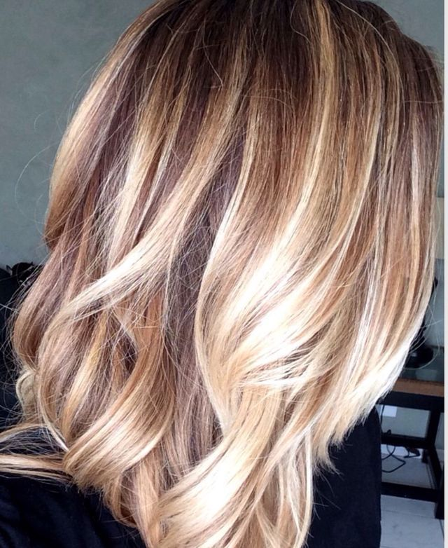 Everyone Was Obsessed With Ombre Style Hair Last Year U2013 The Dip Dye Effect  Of Brown/dark Blonde Hair Turning Lighter And Lighter Towards The Ends Of  The ...