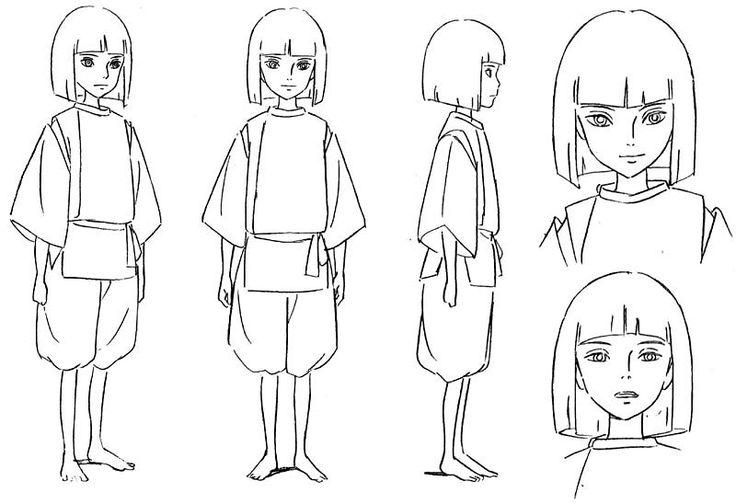 Https Www Facebook Com Characterdesignreferences Miyazaki Spirited Away Coloring Pages
