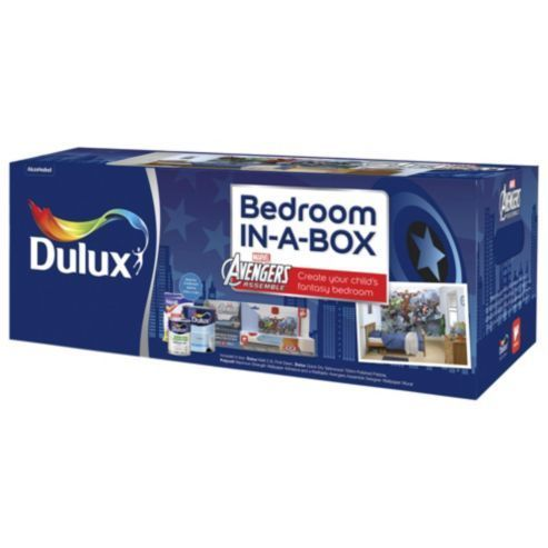 Dulux Marvel Avengers Bedroom-in-a-Box