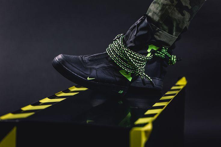 Nike Sf Air Force 1 Hi Boot Slime Sneaker Stores Nike Airforce 1 Winter Sneakers