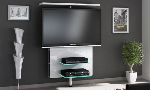 17 mejores ideas sobre muebles para tv led en pinterest for Televisores en la pared