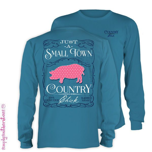 Details About Simply Southern Collection Just A Small Town