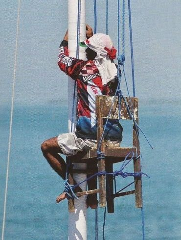 39 best Yacht Mast Ladder Pics images on Pinterest ...