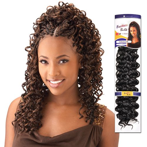 Synthetic Hair Braids Freetress Gogo Curl Box Braids