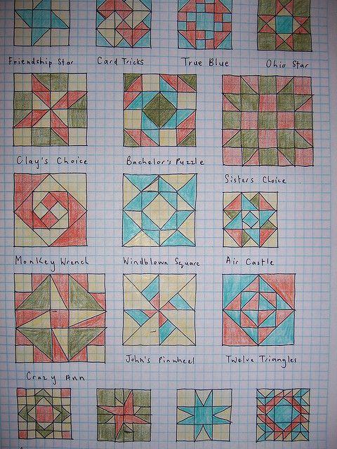 Quilt Block Ideas | photo
