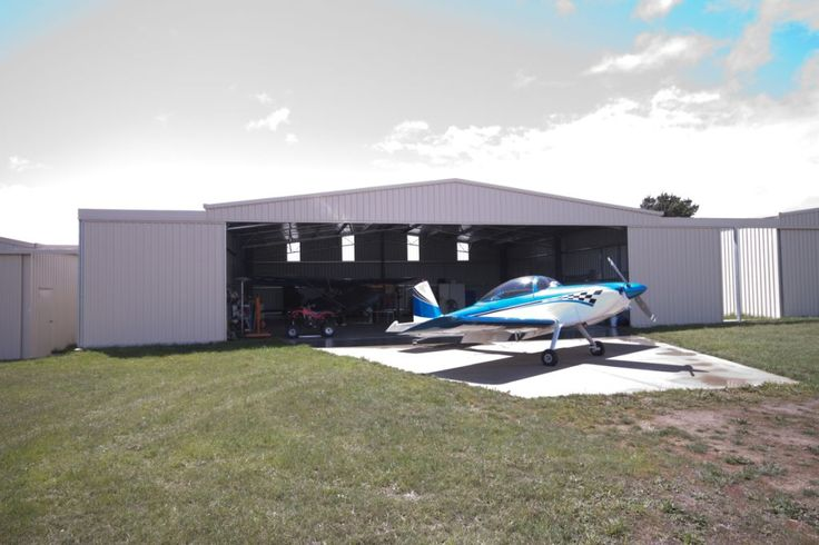 Structural steel buildings for all aviation needs