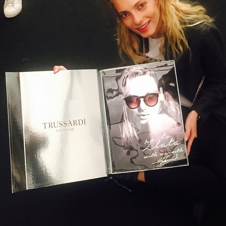Late thank you to #Trussardi for such a personalized gift. Loved it  @trussardinews