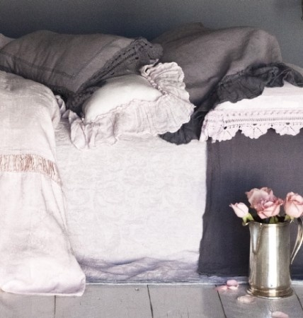 Bella Notte Linens Adele Coverlet with Quick Ship!    100%% Organic Cotton - Chenille Damask. How gorgeous?  #bedding #linens