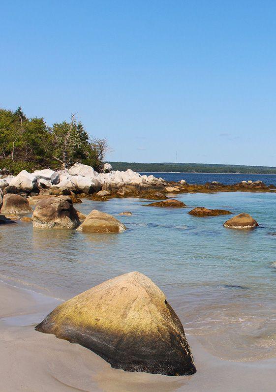 Carters Beach, Port Mouton, Nova Scotia, Kanada (SK-Foto D