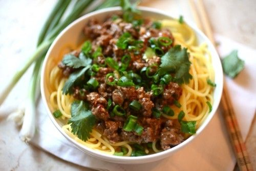 Dan Dan Noodles with Pastured Pork | Recipes | Pinterest