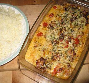 En annorlunda torskrätt, det är härligt när lite italienska smaker och dofter sprider sig i köket. Passar utmärkt till pressad potatis. ...