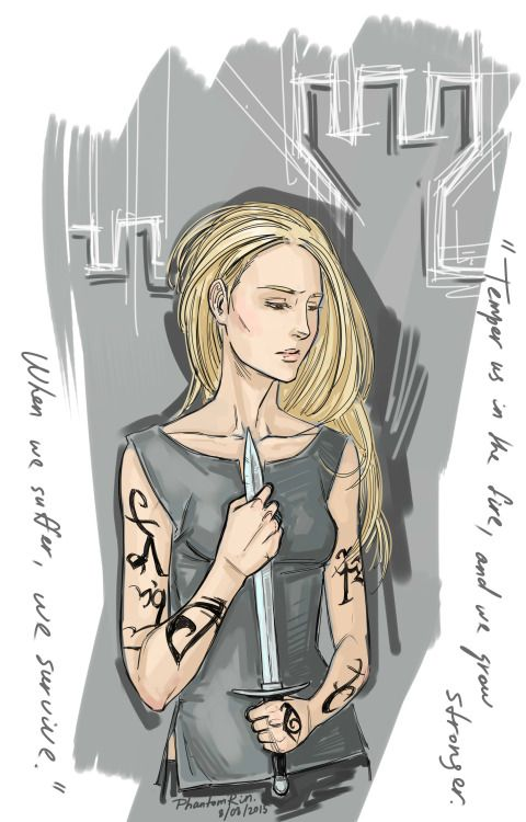 phantomrin: Emma Carstairs (The Shadowhunter series by Cassandra Clare) Gosh, not glad with it at all…Well, maybe a tiny little bit) Still, long way to go. Emma!