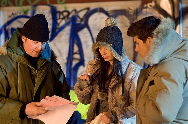 Director chat with #TuffordKennedy #LukeBilyk and #CaraGee