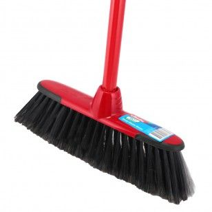 """The Sweep Master Broom from Vileda has special """"bumpers"""" to protects furniture and baseboards."""