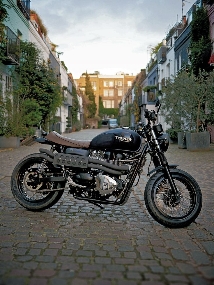 Remember Triumph's famous Trophy models? Here's a high-performance modern update, fresh from those English chaps at Spirit of the Seventies. Head over to the Bike EXIF Instagram for a daily dose of custom motorcycles: http://instagram.com/bikeexif