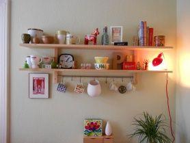 Regal in meiner Küche No. 2 von Philippa