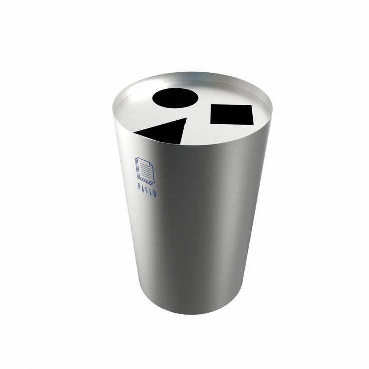 SINGLA SST - Urban design stainless steel recycle bin station