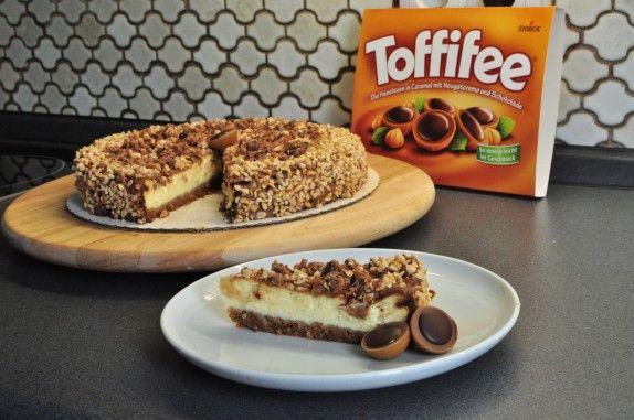 Toffifee-Toffee-Käsekuchen