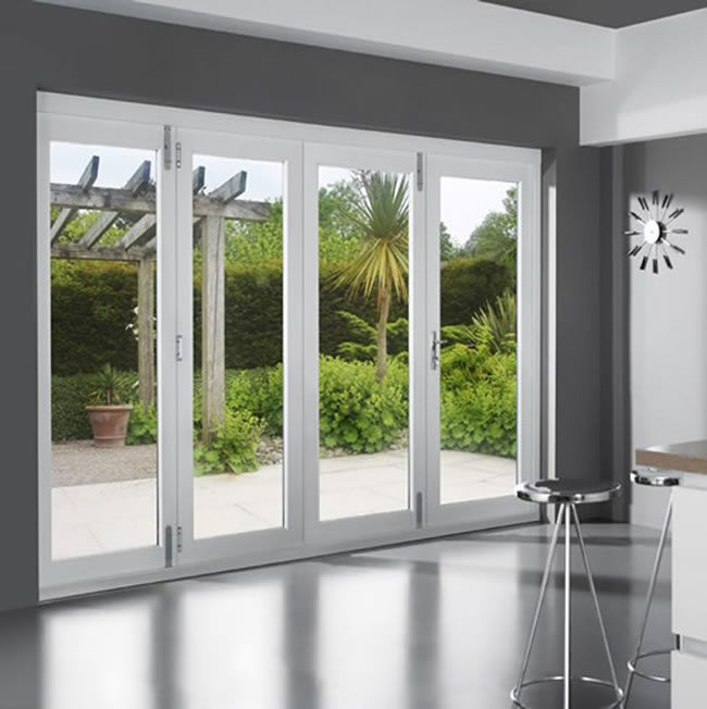 Folding Sliding Patio Door Set