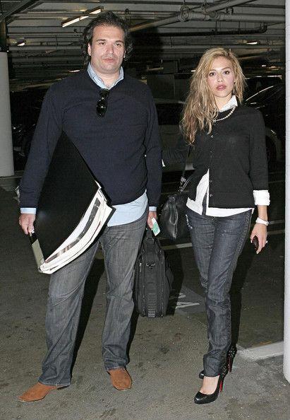 Simon+Monjack in Brittany Murphy 1977-2009