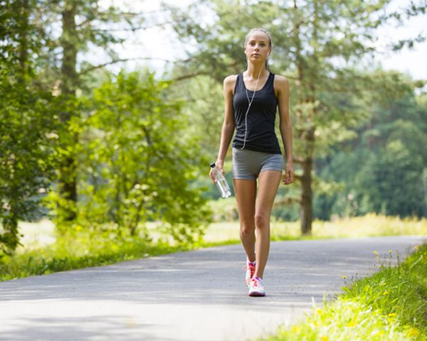 Why brisk walking is good for weight loss