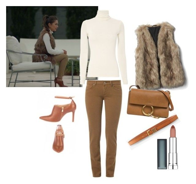 """Untitled #59"" by maysali on Polyvore featuring Express, Maybelline and Chloé"