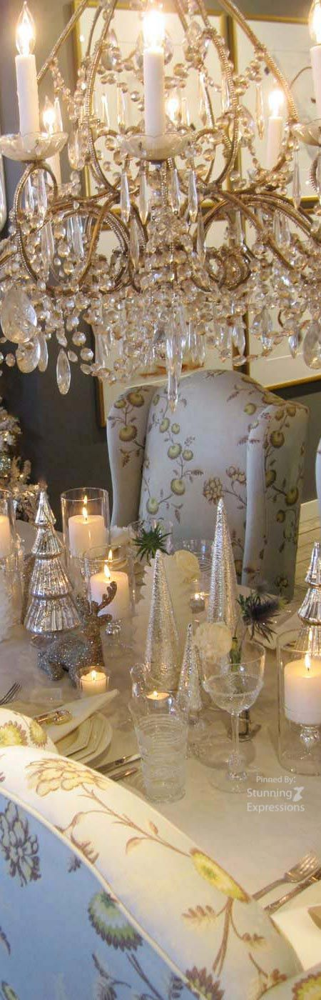 416 best ❆ Silver & Gold Christmas ❆ images on Pinterest ...