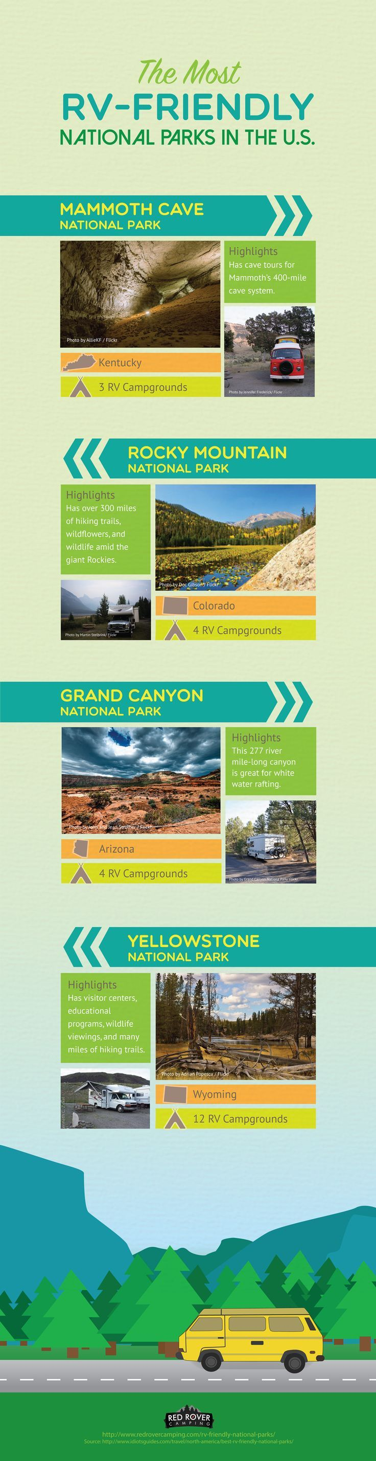 17 best ideas about rv travel rv rv camping and rv here are some of the friendliest national parks in the united states for rvers