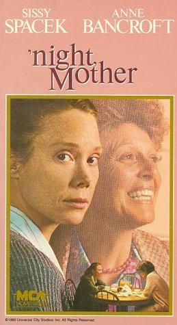 Directed by Tom Moore.  With Sissy Spacek, Anne Bancroft, Ed Berke, Carol Robbins. What would you do if someone you loved sat down with you one night and calmly told you that they were going to end their life before morning? This is Thelma Cates' dilemma. Her daughter, Jessie, has had it. A middle-aged epileptic unable to hold a job or drive with a failed marriage and a drug-addicted runaway son on the wrong side of the law, Jessie can find no reason to go on living. Adapted ...