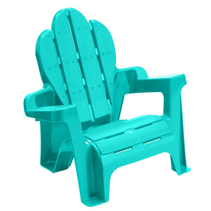 American Plastic Toys, Inc. Kid's Adirondack Chair (Assorted Colors) at The Paper Store
