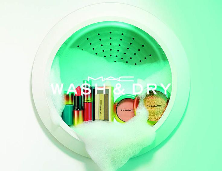 Wash and Dry: Αυτή είναι η πιο cool συλλογή μακιγιάζ για το καλοκαίρι